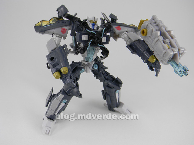 Transformers Skyhammer Voyager - Dark of the Moon - modo robot