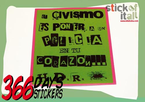 366 Days - 366 Stickers by Vidalooka - STICK OF IT ALL VOL.3 -