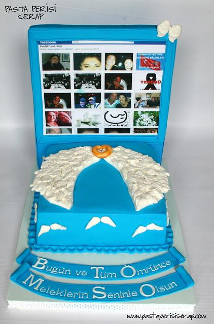 Facbook - melek kanatları pastası