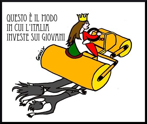 L'Italia investe sui giovani