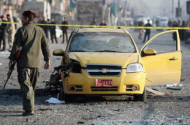 Aftermath of bombings in Baghdad where dozens were killed in renewed attacks. Since the US ostensibly withdrew nearly 450 have been killed. by Pan-African News Wire File Photos
