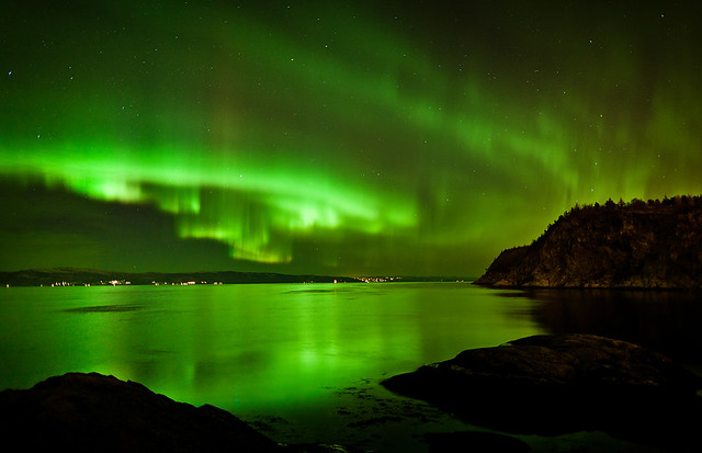Northern Lights over Trondheim