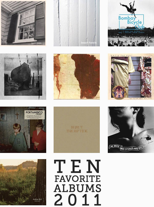 Ten Favorite Albums 2011