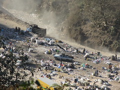 A view of Guatemala City's landfill