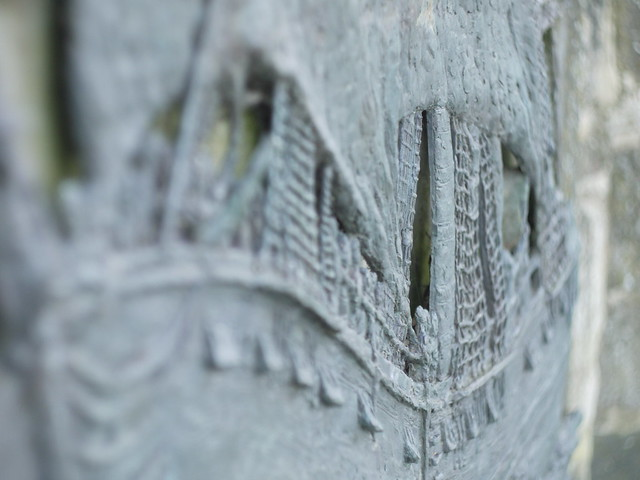 H.M.S. SIRIUS (Bas Relief) - Close up