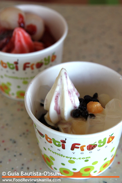 Frutti Froyo yogurts 2