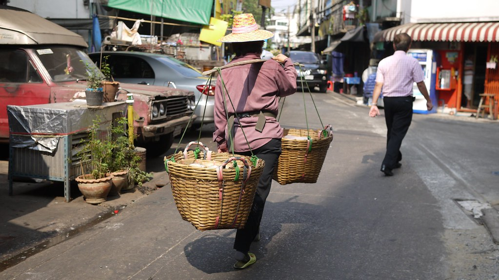 Basket Woman
