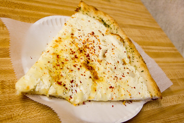 White pie, Crosby Pizza Stop