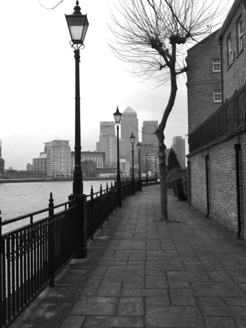 Docklands Walk, Rotherhithe
