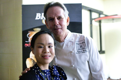 Chef Thomas Keller and I