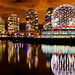 Vancouver Science World Night View by TOTORORO.RORO