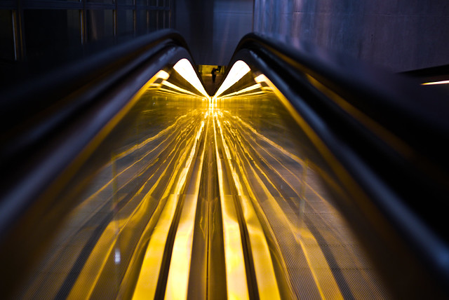 Light speed escalator