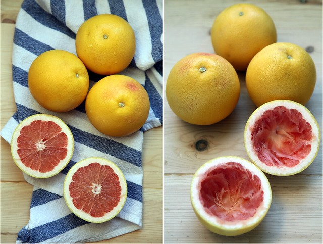 Grapefruit Side by Side