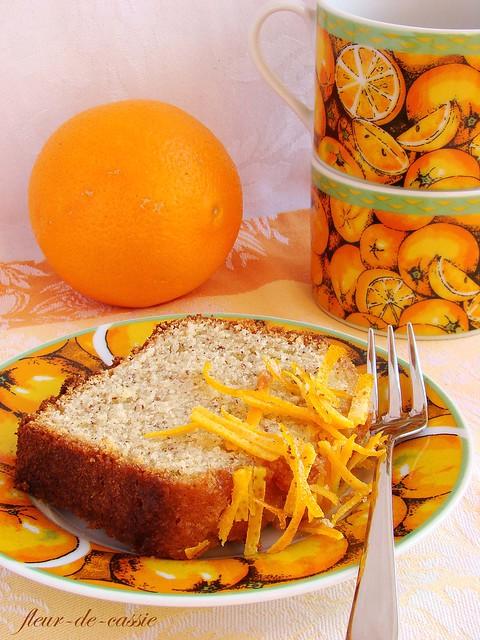 апельсиново-миндальный кекс 4