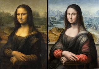 La Mona Lisa original y la del Museo del Prado