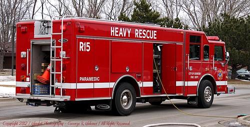 Oshkosh Fire Department 1999 Pierce Saber Heavy Rescue R15