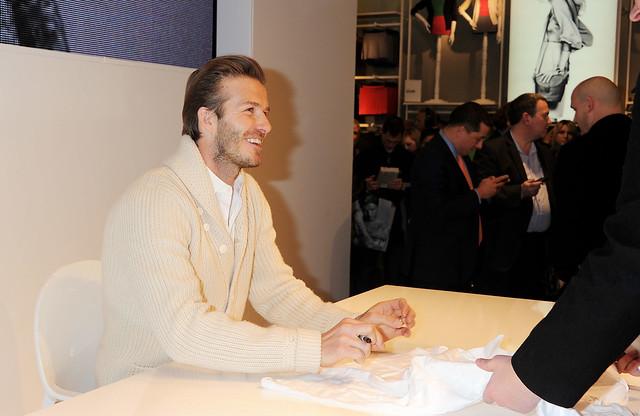 David Beckham Launches Bodywear for H&M - Inside