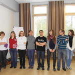 Teilnehmer der Größ nach aufgereiht