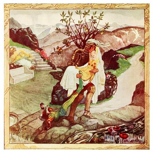 007-El enano derrotado-Polish fairy tales 1920-Cecile Walton