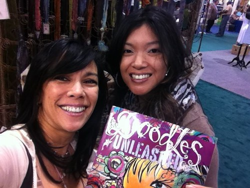 with Bernie Berlin hangin at SLK Ice Resin booth