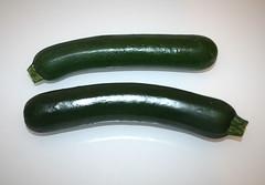 03 - Zutat Zucchini / Ingredient zucchini