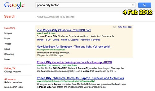 ponca city laptop - Google Search (4 Feb 2012)