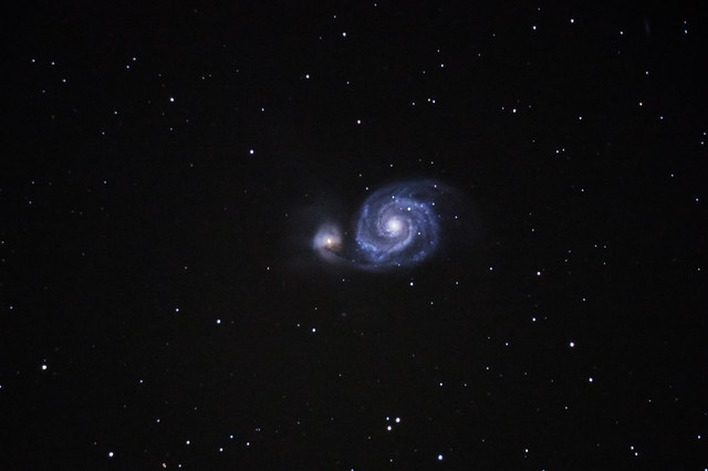 M51 9.5min 6frames ISO3200 coldhot pixels removed-1-3
