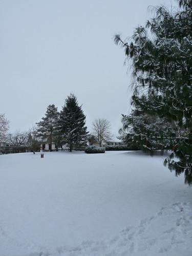 Tours-Nord sous la neige.