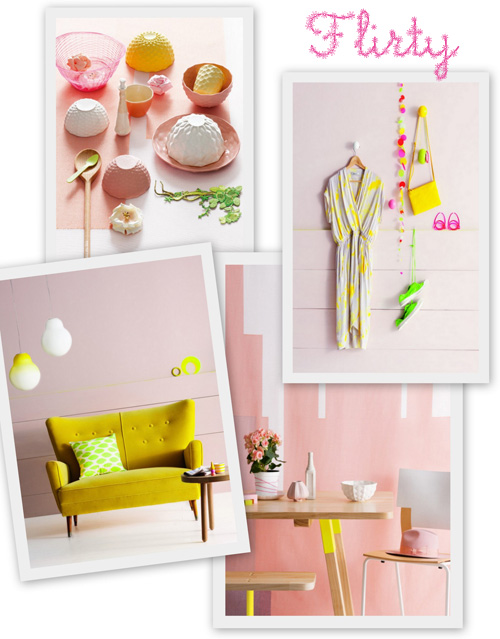 Pastels, Natural Wood, Neon and Hints of Copper