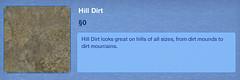 Hill Dirt