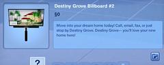 Destiny Grove Billboard #2