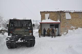 Il Genio Alpini arriva a Luzzena - Foto Corriere Cesenate