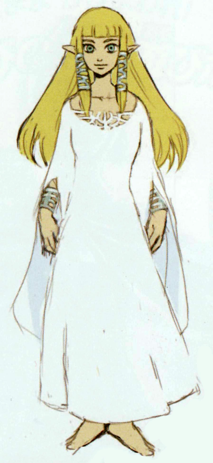 zelda skyward sword goddess dress minecraft skin