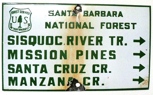 Sisquoc River Mission Pines Santa Cruz Manzana