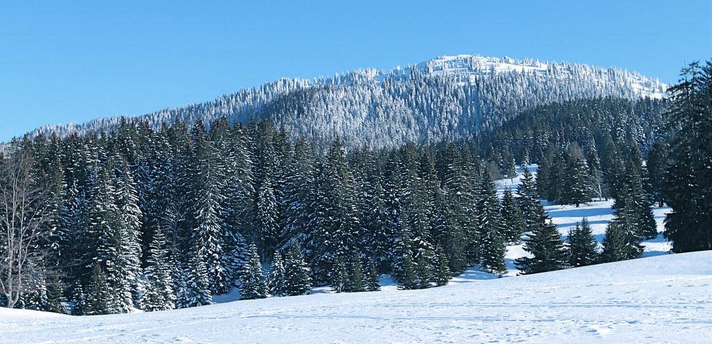 hiver aux Jura