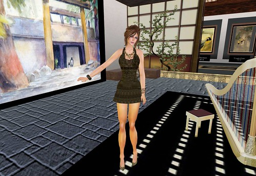 Gift dress Kera *Midnight Morea Style* by Cherokeeh Asteria