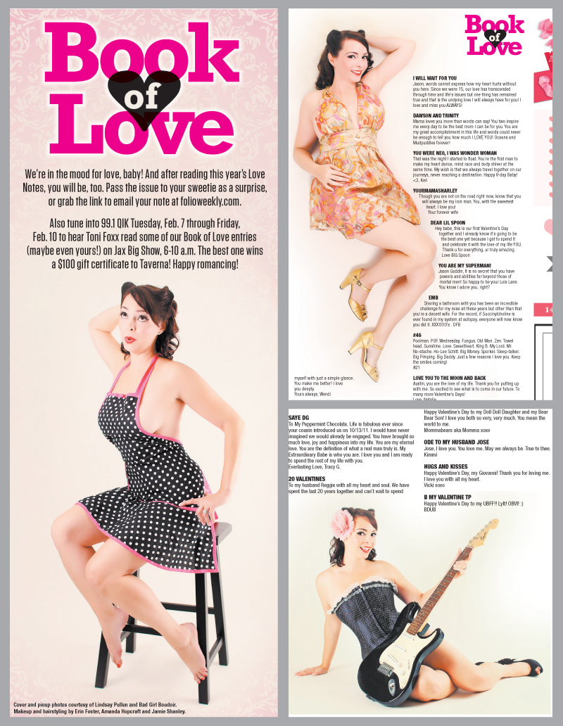 Folio Weekly Interview // Boudoir Photography Florida // Published Photographer