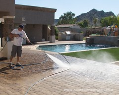 Power Washing Pavers by ACME POWERWASH