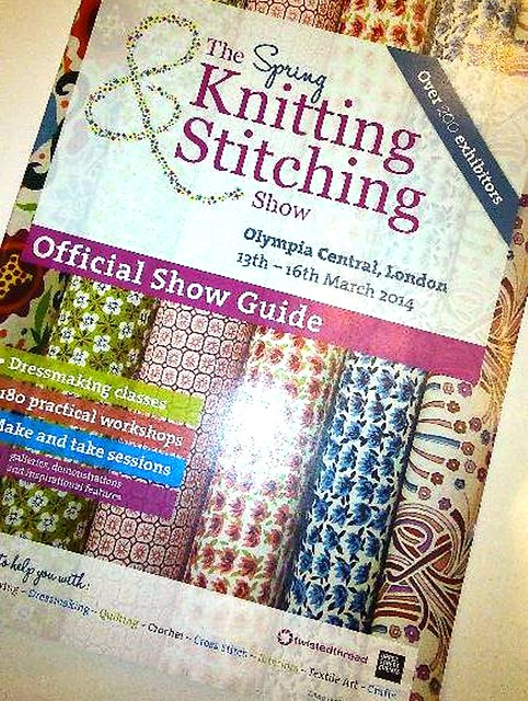 Spring 2014 Knitting & Stitching Show - Olympia