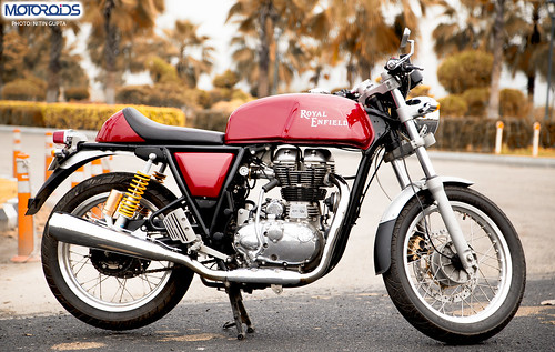 Cafe Racer - Royal Enfield