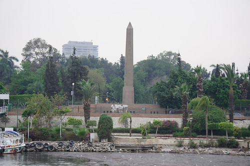 The obelisk of Zamalek