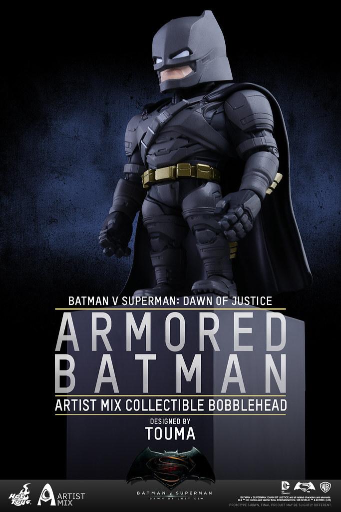 Hot Toys – 蝙蝠俠對超人:正義曙光【重裝蝙蝠俠】TOUMA 聯名系列 Armored Batman