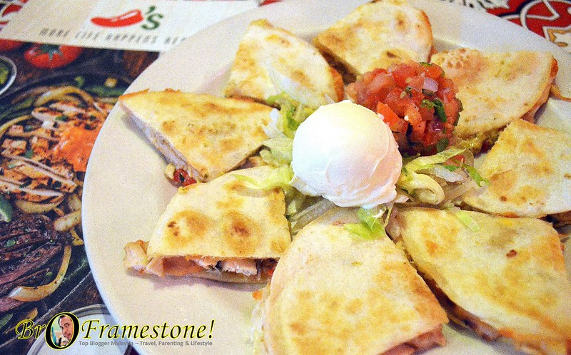 Chili's Malaysia - Hidangan Sentuhan klasik Amerika Citarasa Mexico