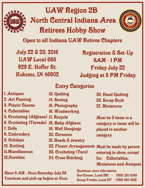 Hobby Show Flyer