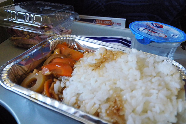 2009071704 - China Eastern Airlines's in-flight meal
