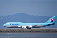 Korean Air Lines Boeing 747-800, HL7630 stretched jumbo jet DSC_0775