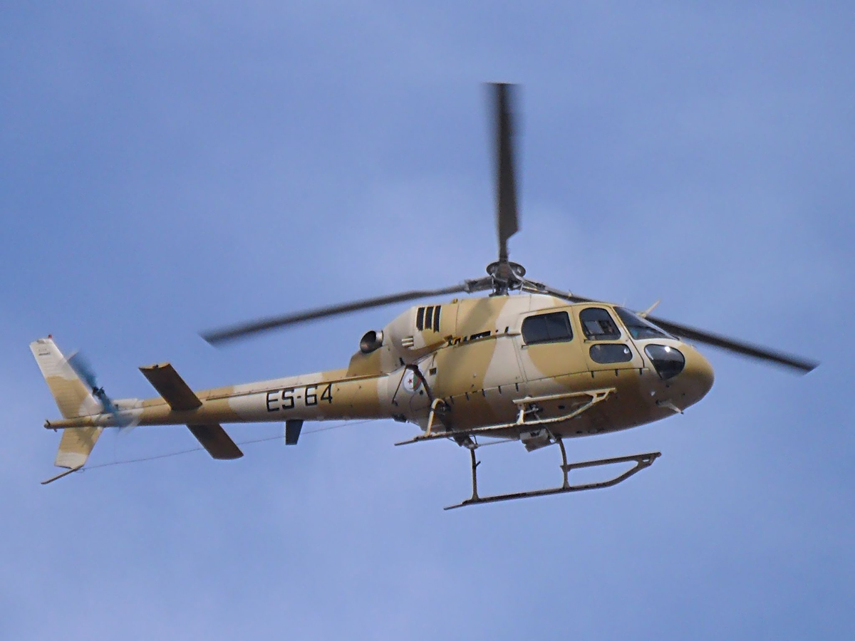صور مروحيات القوات الجوية الجزائرية Ecureuil/Fennec ] AS-355N2 / AS-555N ] - صفحة 6 27438366135_2660bbfb0b_o