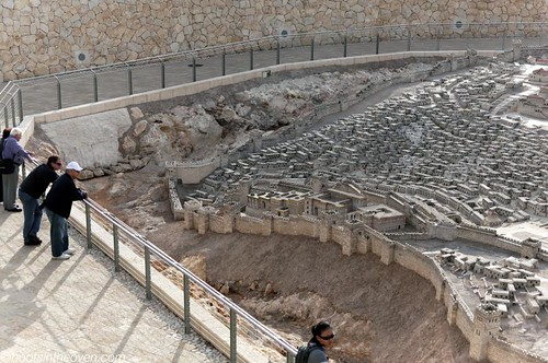 A 1:50 model of Jerusalem during the Second Temple period