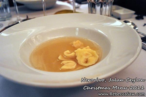 Nerovivo, Jalan Ceylon - christmas menu 2011-4