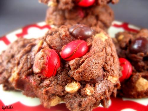 cinnamon cookies close up